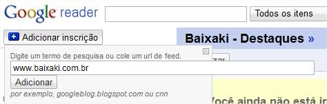 Use o Google Reader  para saber das novidades!