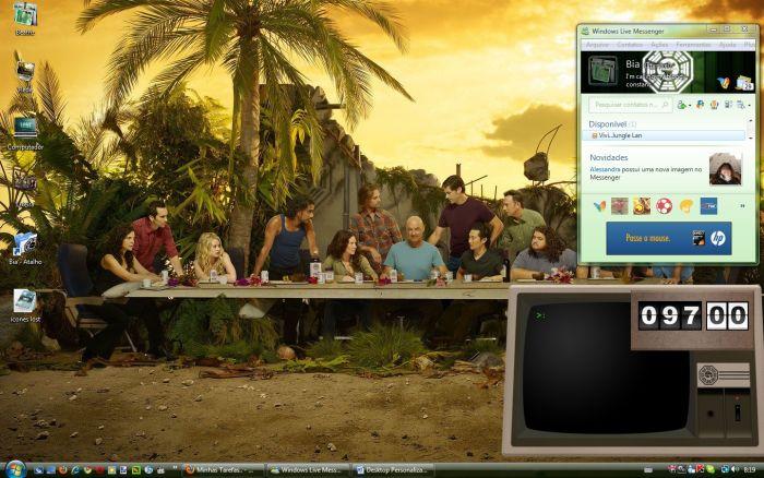 Desktop totalmente personalizado