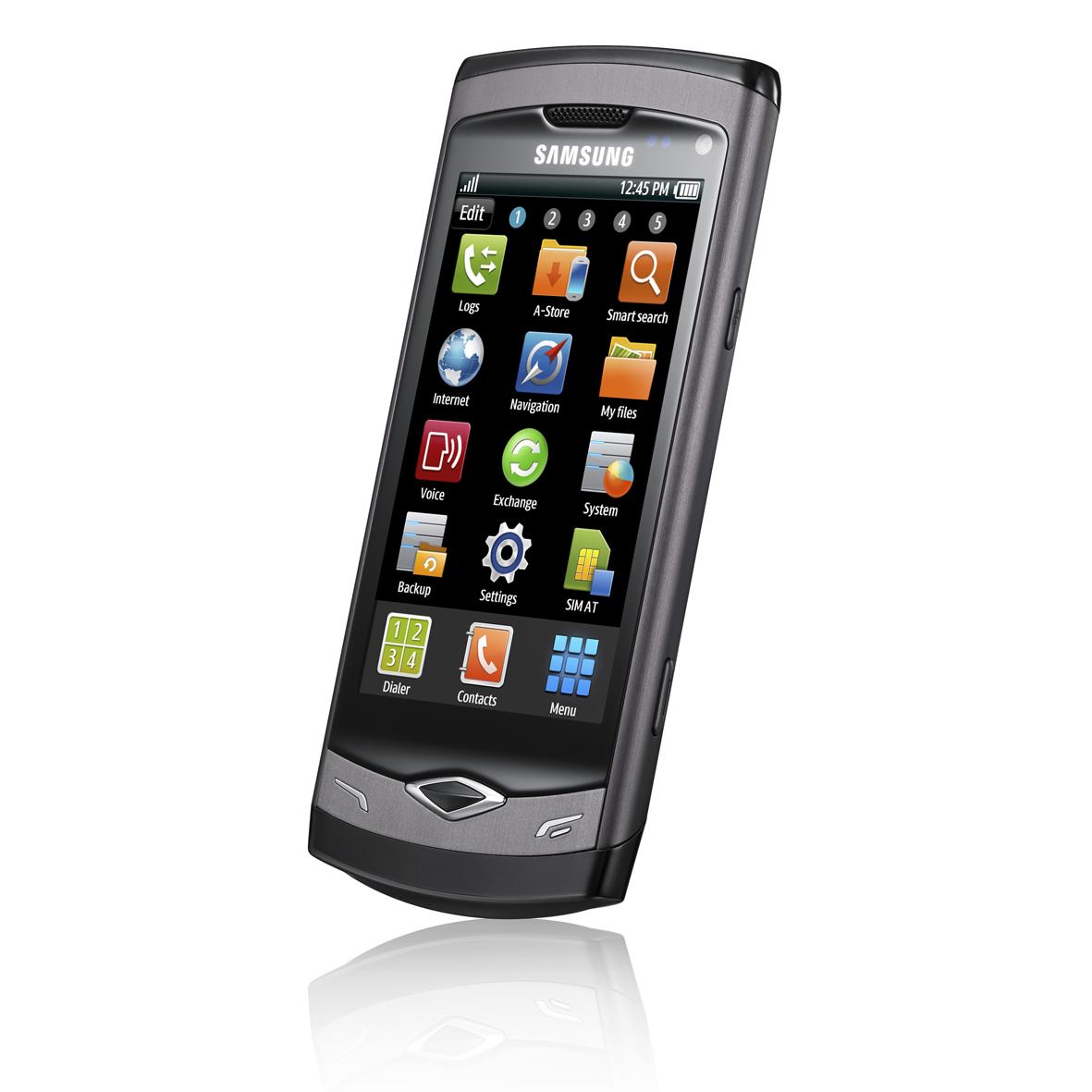 Celular da Samsung tem tela AMOLED capacitiva e Bluetooth 3.0