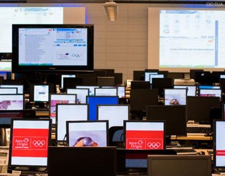 Sistemas, redes e computadores que não tiram os olhos do evento (imagem: CIO EUA).