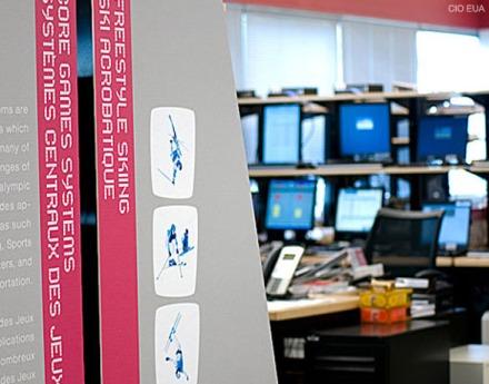 Detalhe do laboratório, que testa todos os sistemas durante os jogos (imagem: CIO EUA).