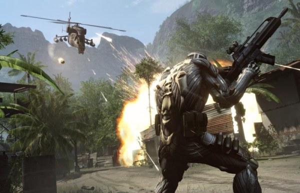 Crysis lidera em  efeitos gráficos