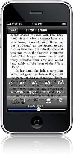 Leia seus livros no  iPhone!