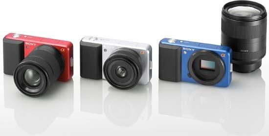 Câmeras EVIL da Sony