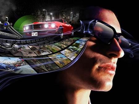 O futuro em três dimensões.
