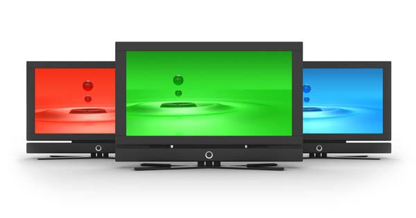 As três cores dos televisores ganham uma quarta cor com a tecnologia Quad-Pixel.