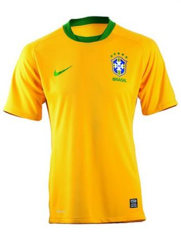 Tecnologia no futebol  nova camisa da seleção 18f0f5b50728a