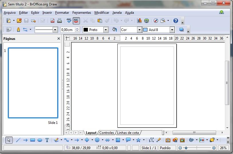 Desenhe utilizando o Draw