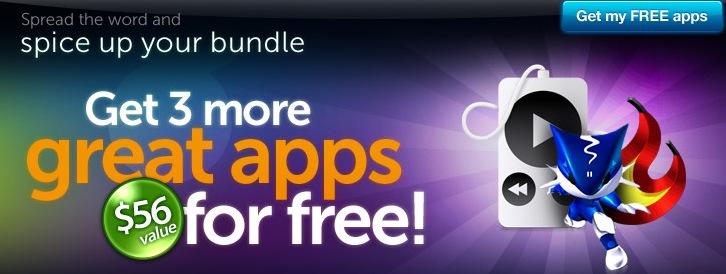 Mais 3 aplicativos!