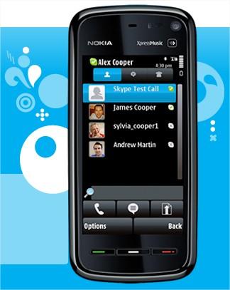 Skype para celulares  Symbiam