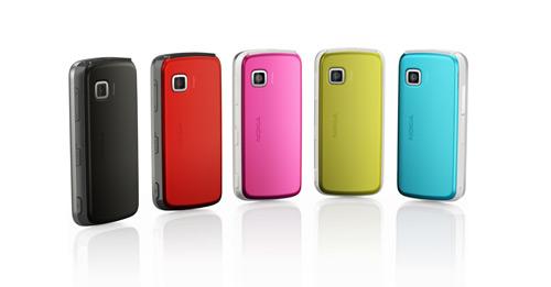 Nokia5230 e suas  cores
