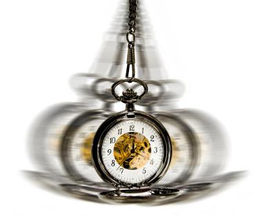 O tempo passa voando
