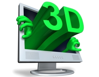 Projeções  tridimensionais