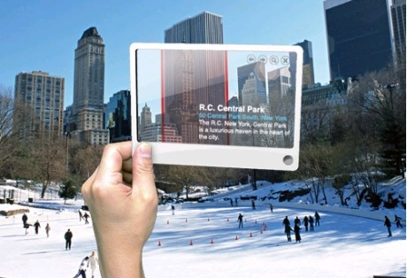 Smartphone-conceito  utilizando o Nokia Point & Find
