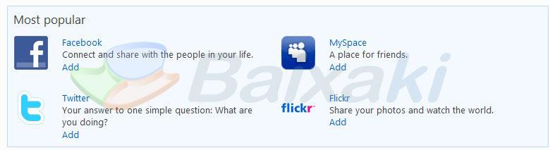 Integre o MSN às redes sociais!