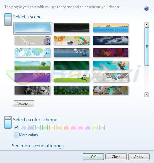 Use o mesmo tema do  seu Windows 7!