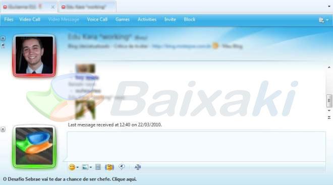 Navegue entre as abas do novo MSN!