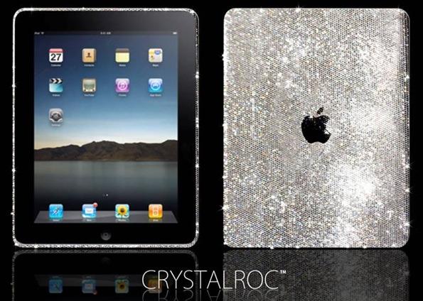 iPad de cristais