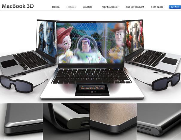 MacBook 3D