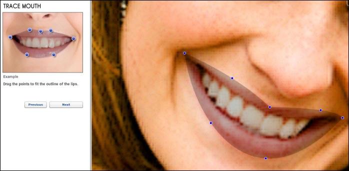 Definir lábios