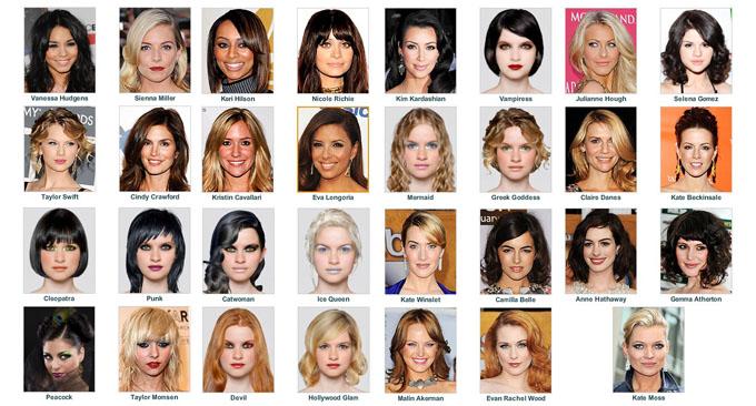 Todas as famosas.
