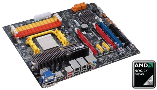 Placa-mãe da ECS com o chipset AMD 890GX