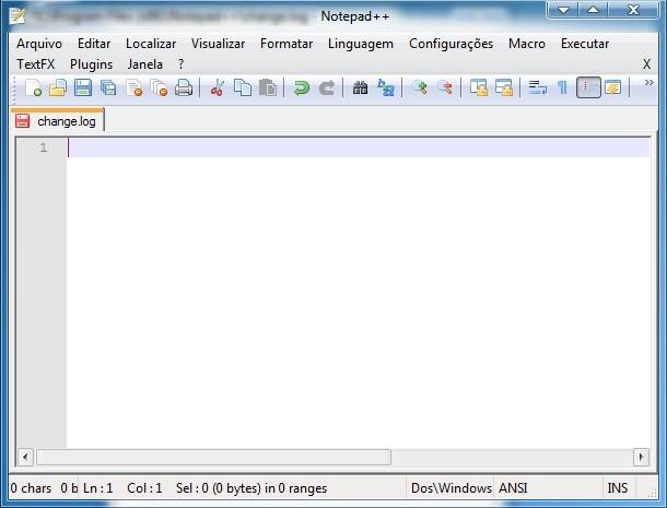 Um novo bloco de notas padrão para o Windows 7