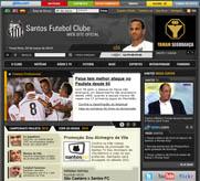 Site oficial do Santos