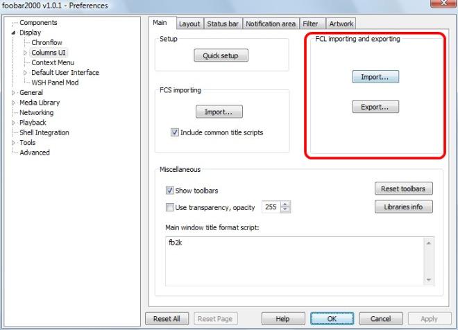 como utilizar Foobar2000