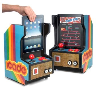 iCade, eu iPad é um  video game arcade!