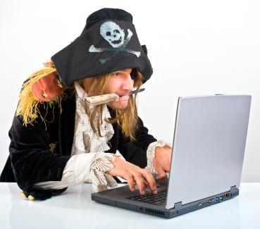 Piratas da internet  estão de olho!