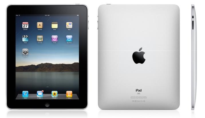 O iPad atingiu a marca de 1 milhão de unidades vendidas.