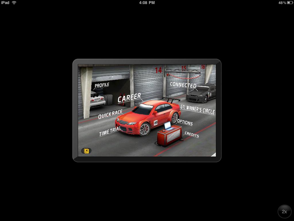 App no tamanho da tela do iPhone