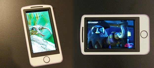 Tecnologia 3D em  celulares e video-games portáteis
