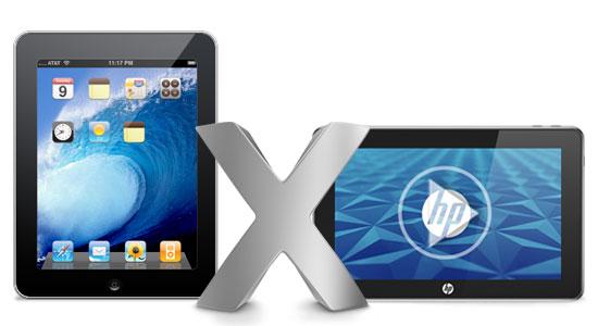 iPad versus HP Slate