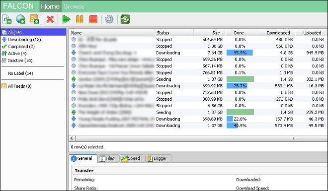 uTorrent dentro do  navegador