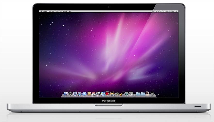 MacBook Pro com nova opção de processador.