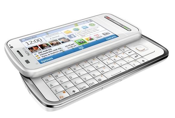 Nokia C6 com slider