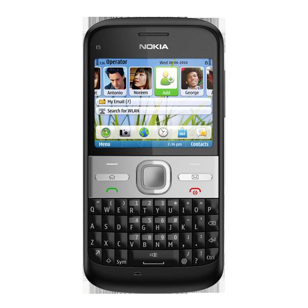 Nokia E5, para executivos