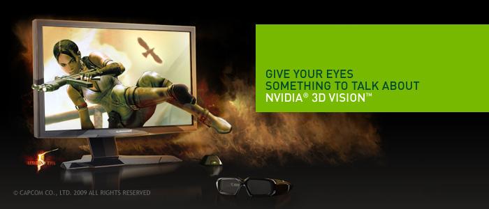 NVIDIA é pioneira na tecnologia 3D nos jogos para PC