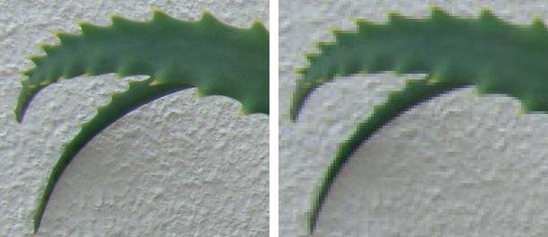 Poucos megapixels representam imagens quadriculadas