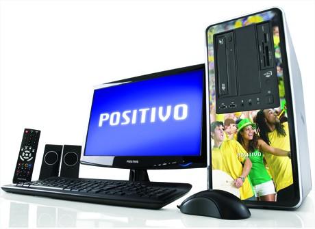 Personalize seu  Positivo com as cores do Brasil