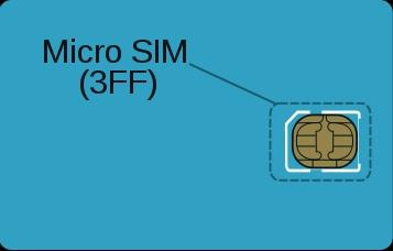 Este é o Micro SIM