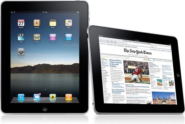 iPad no exterior!