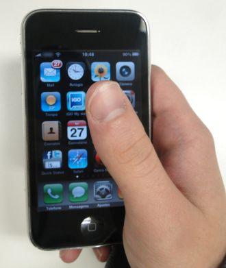 O iPhone revolucionou o conceito de tela sensível ao toque!