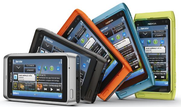 Nokia N8 e suas diversas cores