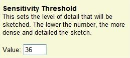 Defina o nível de detalhes