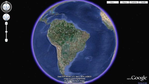 google earth em tempo real baixaki