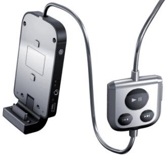 Bateria e iPod.