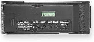 Datador MF-12 da Nikon, do início dos anos 1980